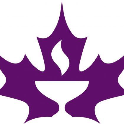 CUC chalice logo in maple leaf
