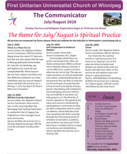 FP July August 2020 Communicator