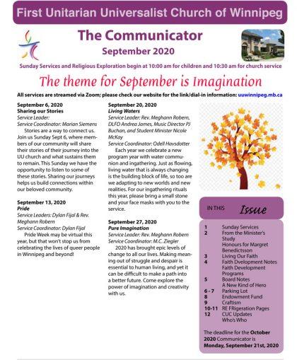 FP September 2020 Communicator