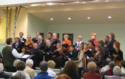 our choir christmas eve 2017
