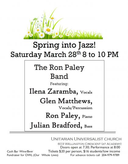 Spring Jazz Caberet poster