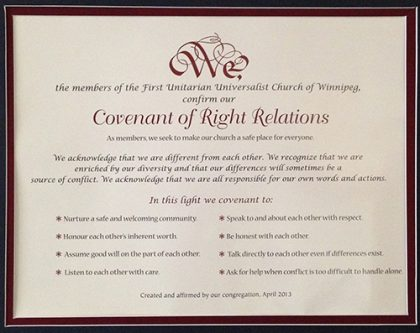 covenant of right relations