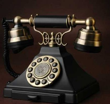 antique phone from 1938