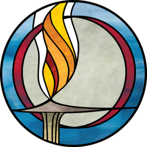 CUC stained glass chalice