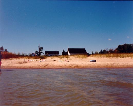 Camp Hnausa lake