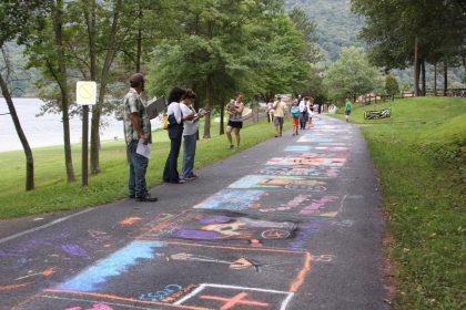 Sidewalk chalk images
