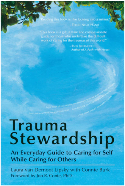 trauma stewardship book cover